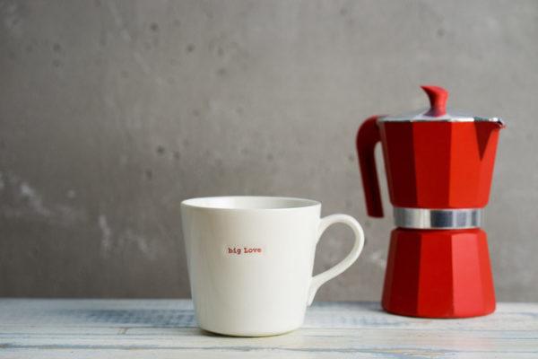 Large Bucket Mug 500Ml - Big Love