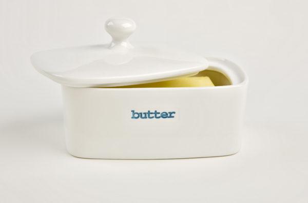 Ceramic Butter Dish - Butter