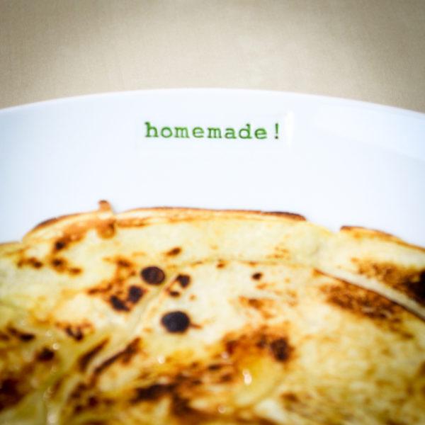 Side Plate - Homemade!