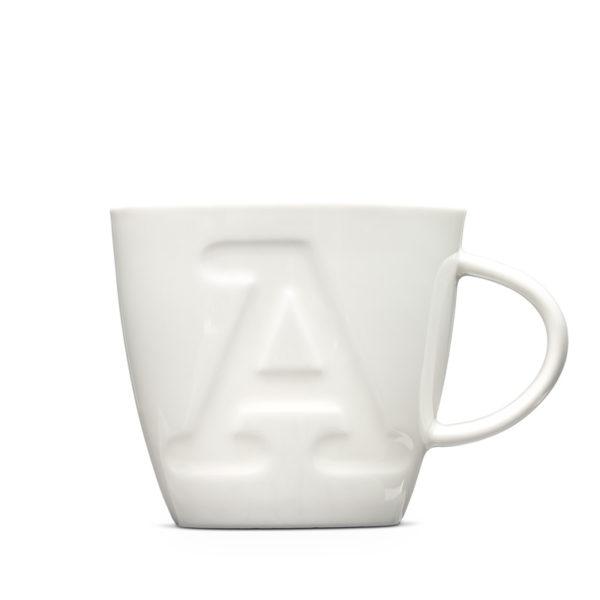 """Alphabet Mugs """"A"""" 380ml"""