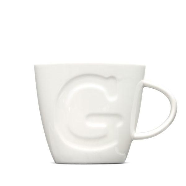 "Alphabet Mugs ""G"" 380ml"