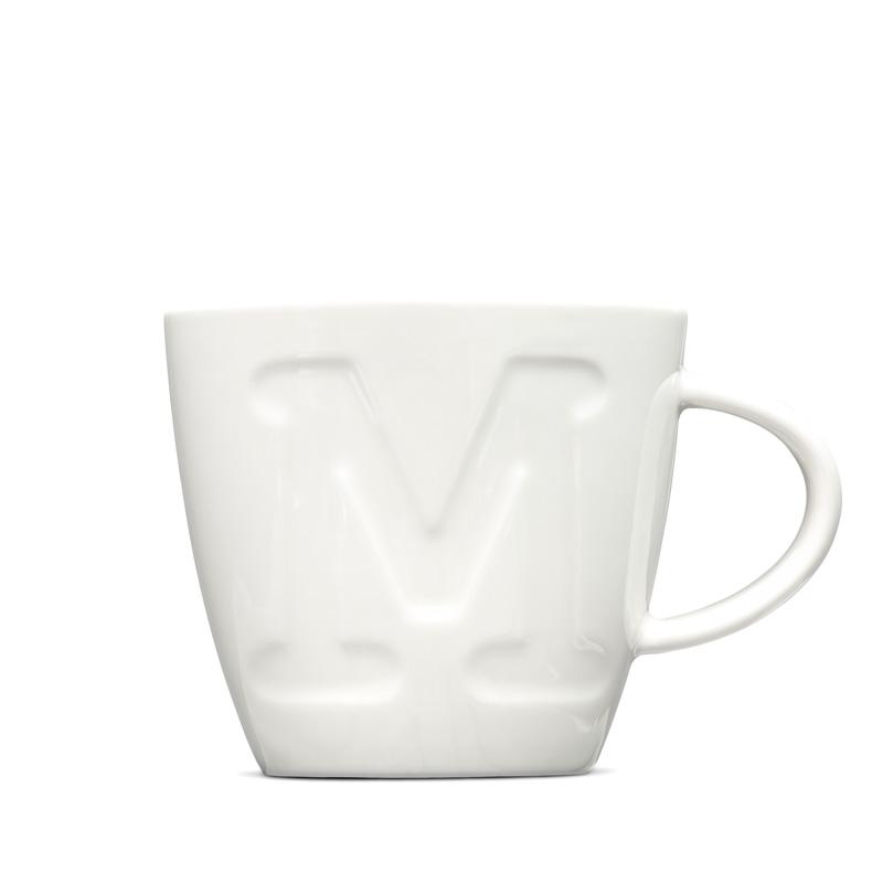 Letter M Designer Ceramic Mug Keith Brymer Jones