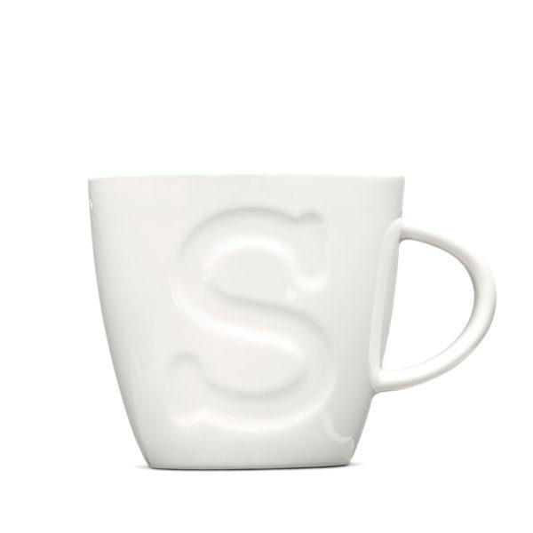 "Alphabet Mugs ""S"" 380ml"
