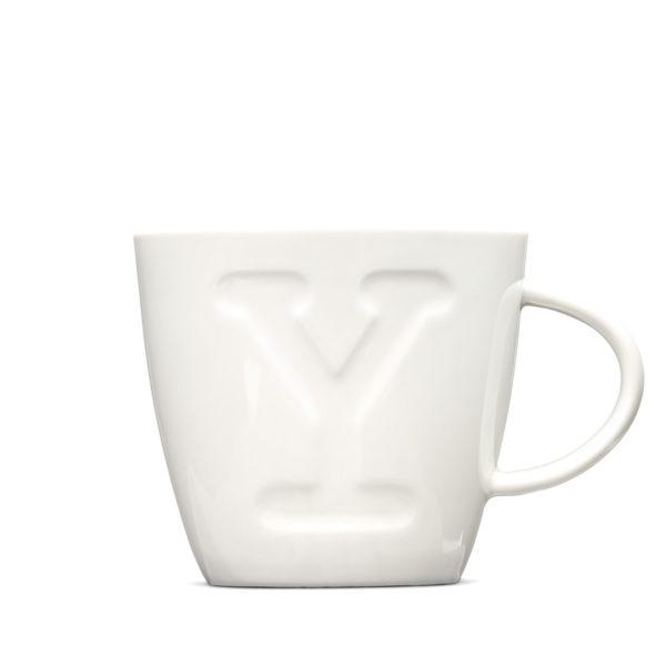 """Alphabet Mugs """"Y"""" 380ml"""