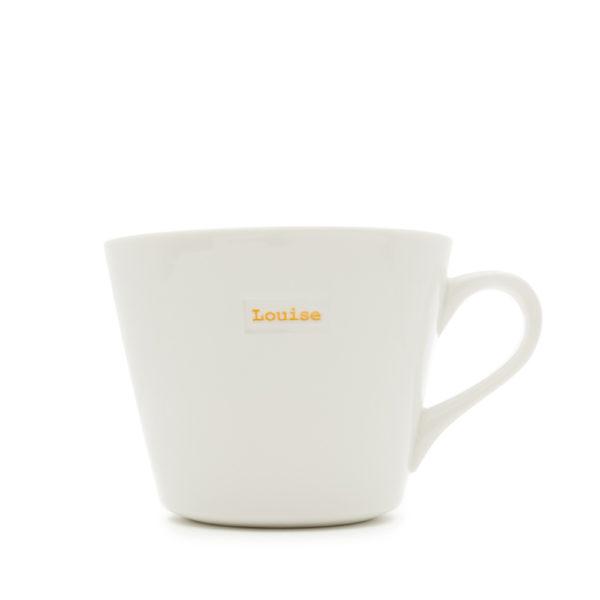"White Bucket Mug ""artist"" 350ml"