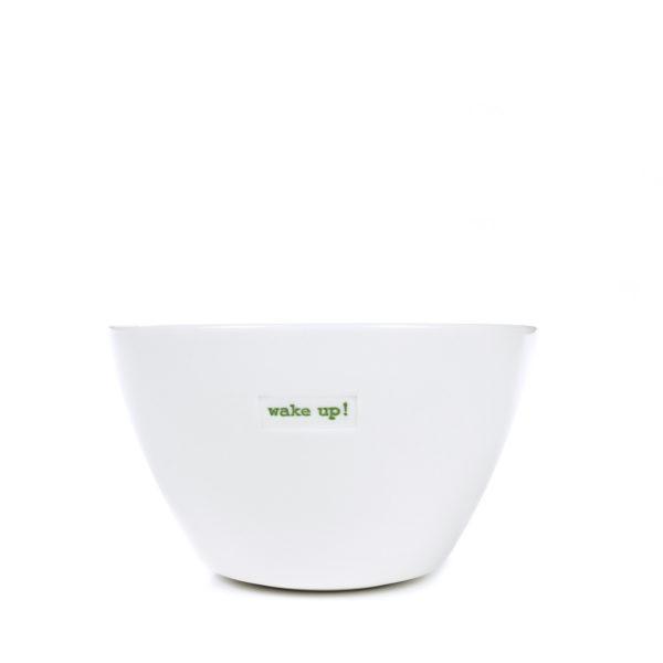 Medium Bowl 500ml - wake up!