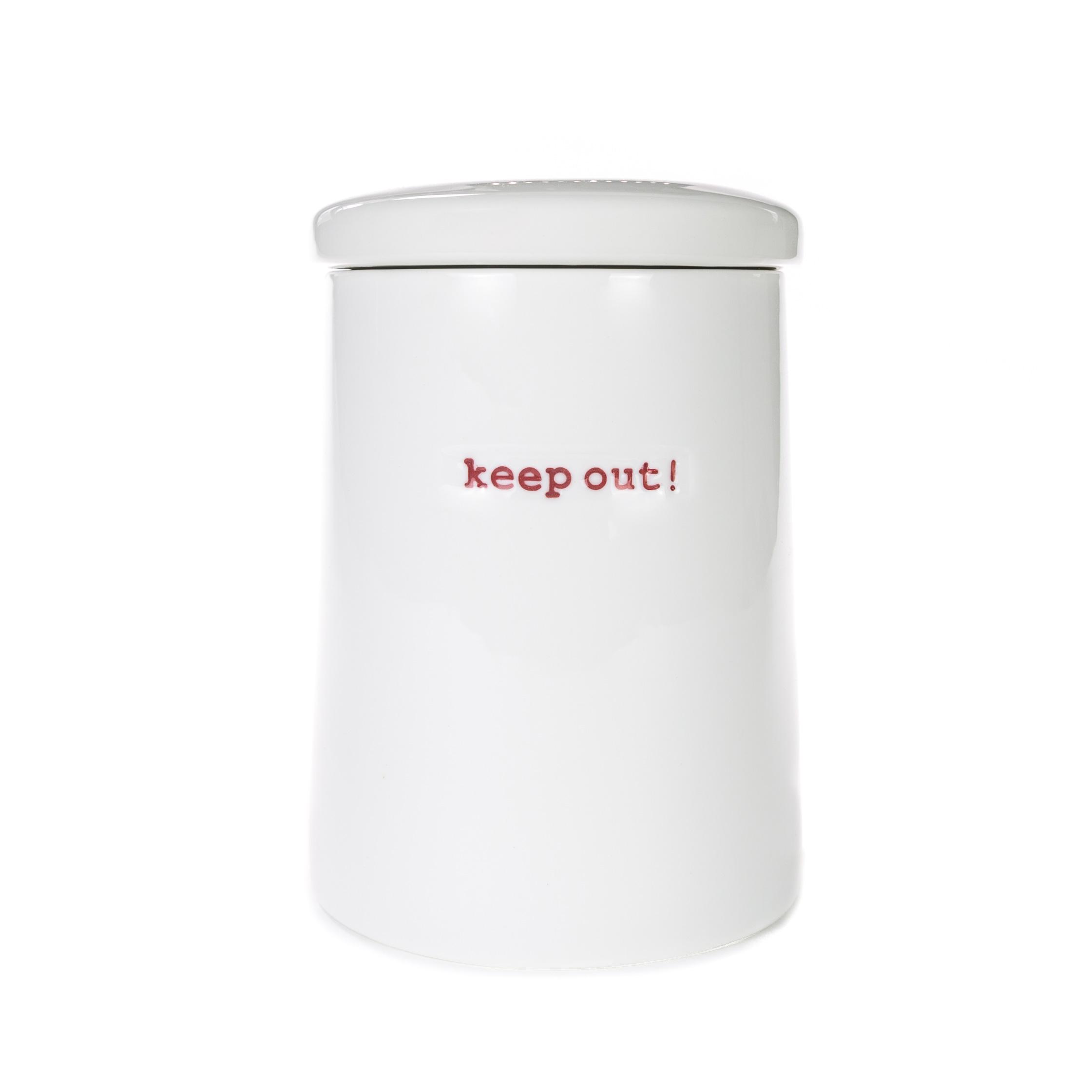 Storage Jar - keep out!