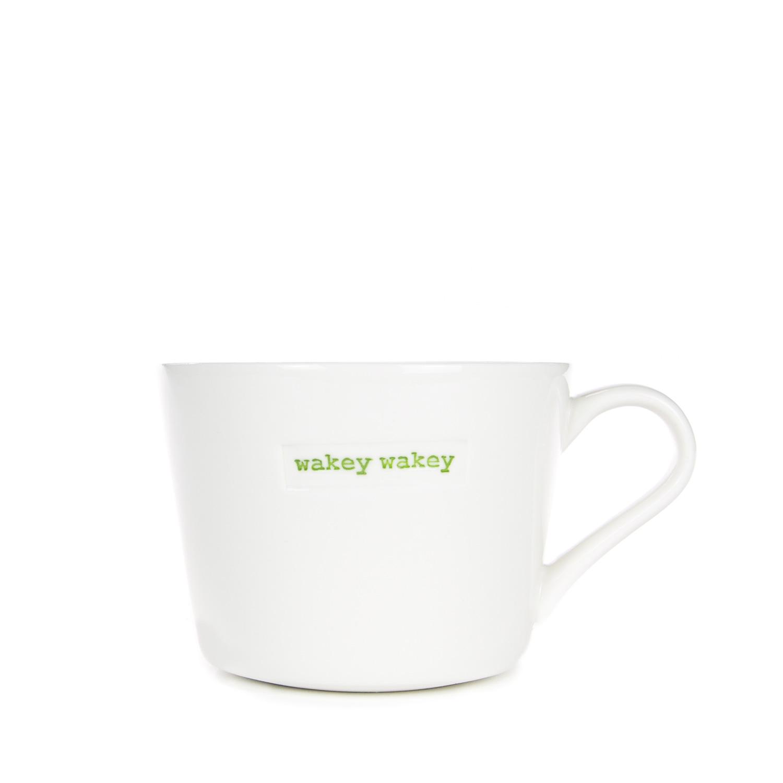 Mini Bucket Mug 280ml - wakey wakey