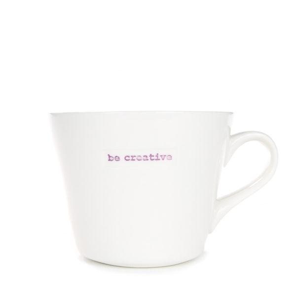 Standard Bucket Mug 350ml - be creative