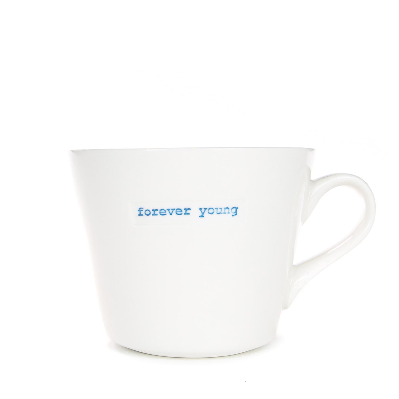 Standard Bucket Mug 350ml - forever young