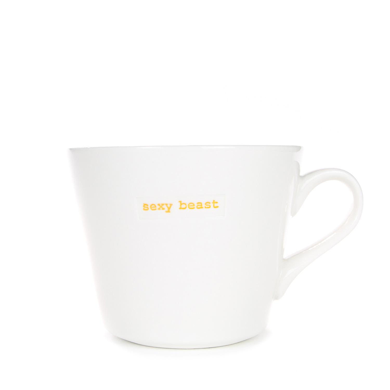 sexy beast mug - 350ml Standard Bucket Mug