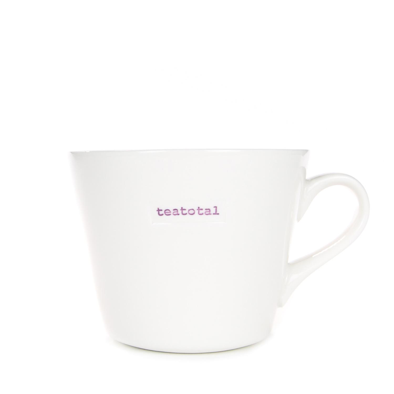 Standard Bucket Mug 350ml - teatotal
