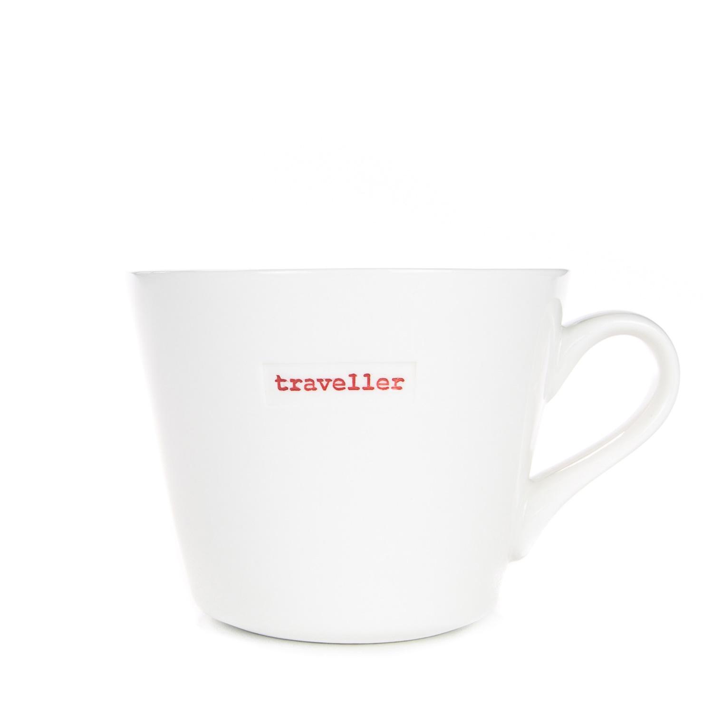 Standard Bucket Mug 350ml - traveller