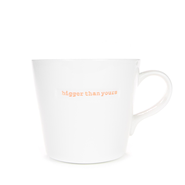 Large Bucket Mug 500ml - bigger than yours