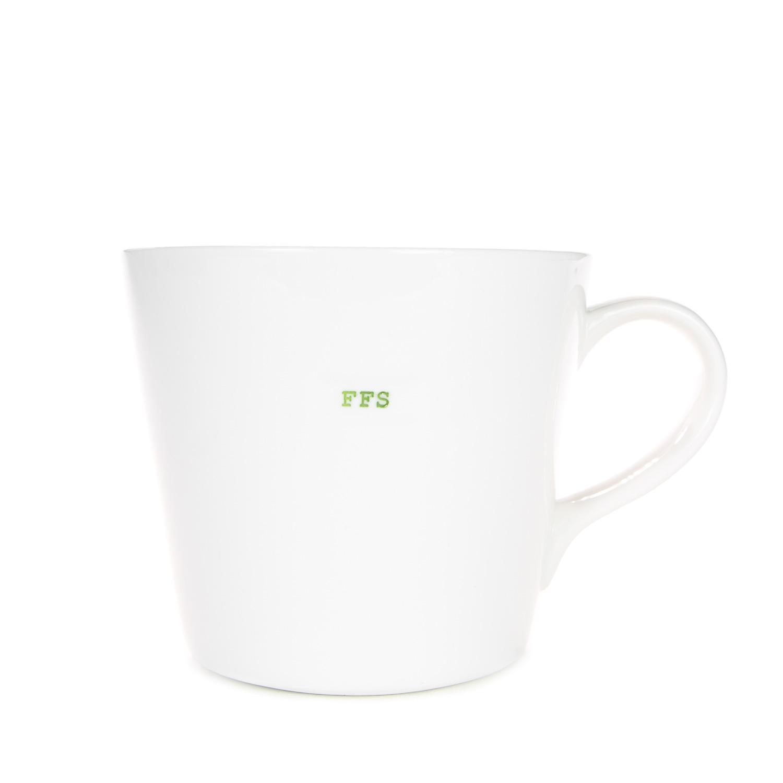 "Large Bucket Mug | ""FFS"""