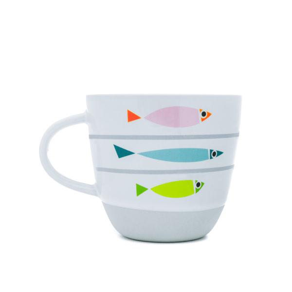 Fishy Line-Up | Nautical Mug