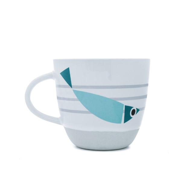 Fishy Rise & Shine | Nautical Mug