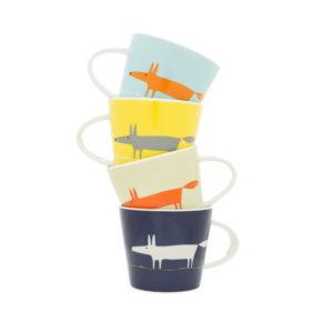 Set of 4 Espresso Cups | Mr Fox