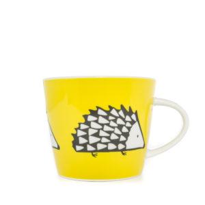 Scion Spike Hedgehog Mug 350Ml - Yellow