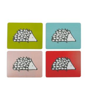 Scion Spike Hedgehog - Placemats Set Of 4