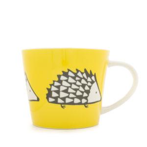 Scion Spike Hedgehog Large Mug 525Ml - Yellow