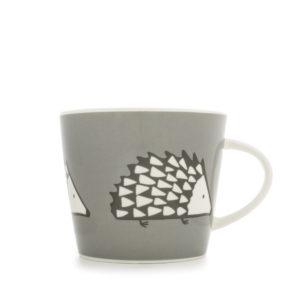 Scion Spike Hedgehog Mug 350Ml - Grey