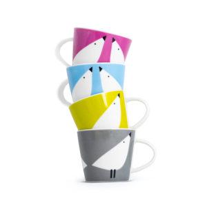 Set of 4 Espresso Cups | Lintu