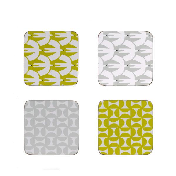 Scion Coasters | Set of 4 | Pajaro & Forma