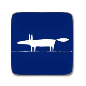Mr Fox - Coasters Set of 4