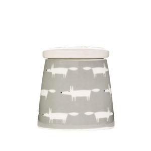 Mr Fox Storage Jar | Large | Ceramic & Orange Multi