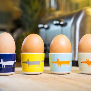 Scion Mr Fox - Egg Cup Set Of 4