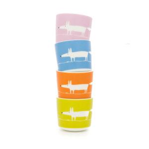 Scion Fox Egg Cup Set of 4 | Mr Fox