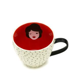 Vintage Lady | Tatty Devine Mug