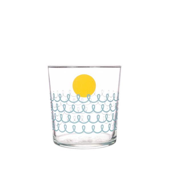 Bert & Buoy Dartmouth Design Glass Seafoam