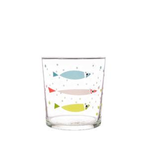 Bert & Buoy Dartmouth Design Glass Fishy Bubbles
